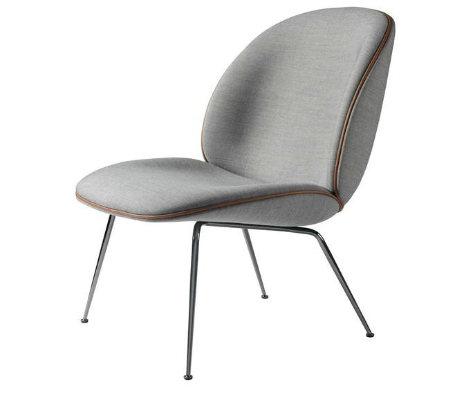 gubi beetle lounge chair