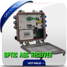 Receptor óptico de cable de fibra FTTH / Nodo óptico de interior de 2 vías CATV
