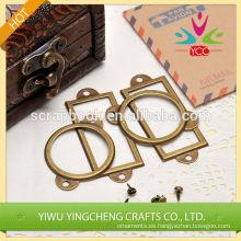 soporte metálico rectangular y circular Porta foto portaetiquetas