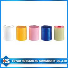 Tapa superior con tapa sellada alta para botellas de plástico y tubo