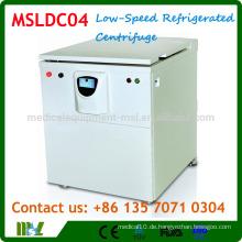 MSLDC04 Low-Speed-Großraum-Kältezentrifuge / Kühlzentrifugenmaschine