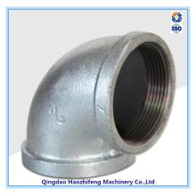 Adaptador de tubulação de ferro maleável, disponível em 1/8 a 6 polegadas