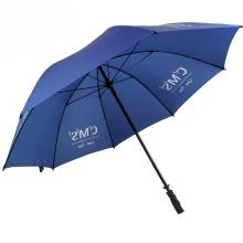 China umbrella factory unique client logo prints shanghai golf big parasol royal umbrella