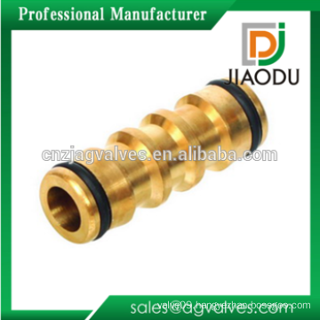 Brass Two Way Garden Hose Quick Connector