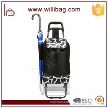 Promotional Portable Shopping Cart Bag/Shopping Trolley Bag