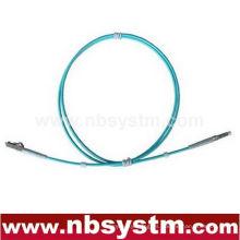 10Gb Corning Cable de fibra óptica, LC-LC, Multi Mode, Simplex (Tipo 50/125) Aqua