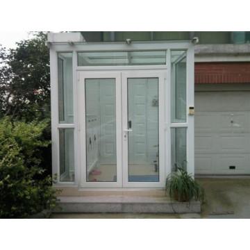 Porte battante en alliage d'aluminium domestique