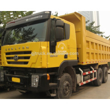 6*4 340HP Heavy Duty Hongyan Genlyon Dump Trucks