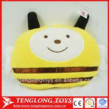 Vente en gros mignon citron jaune abeille couverture d'oreillers