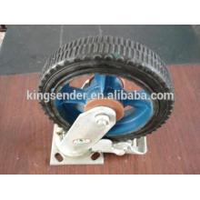 2' - 6' roues castor