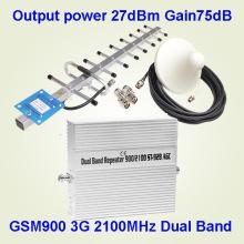 Voice und Daten GSM900 UMTS Cellular Signalverstärker, Dual Band (2 in einem) Verstärker, Indoor und Outdoor Repeater / Booster / Amplif