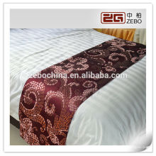 Suprimentos china hotel bed tail towel