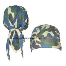 OEM Produce logotipo personalizado impresso algodão promocional Hip Hop cabeça da bicicleta cachecol crânio Headscarf