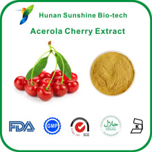 25% de vitamina C UV 4: 1 TLC Acerola Cherry Extract