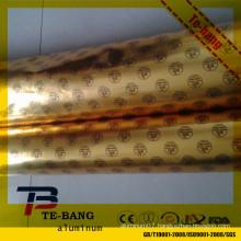 Laminated Aluminium Foil Paper Hamburger Wrap