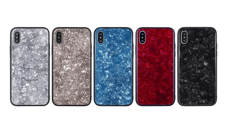 iPhone X 9H Tempered Glass Case
