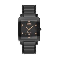 Caso quadrado, relógio de alta qualidade homem