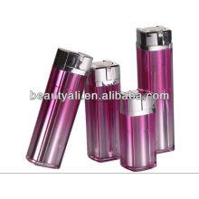 Frasco acrílico cosméticos airless para embalagem