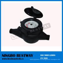 Medidor de agua fría multi-chorro de plástico de nylon (LXSG-15S-40S)