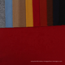 Factory price  textiles tessuti  warm 100%polyester fabric flannel knitting fabrics and garments for clothing winter