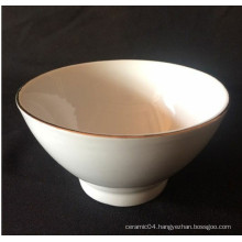 ceramic footed bowl
