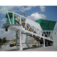 Small Portable Concrete Mixing Plant On Stock