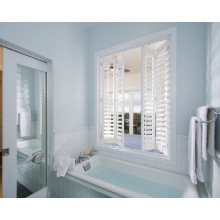 Good Quality of Cheap Price Custom Made Double Hinged Plantation Shutters In CSc