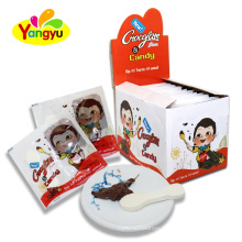 Yummy Taste Tablet Candy With Chocolate Jam Hazelnut Jam For Little Kids