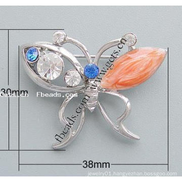 Gets.com 2015 zinc alloy butterfly unique brooch
