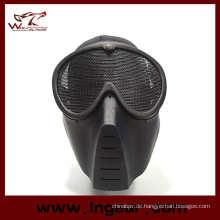Airsoft Paintball voll Gesichtsmaske kein Nebel Goggle