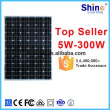China fabricação mono painel solar 24V 250w 310W 320W módulo solar fotovoltaico 320WP