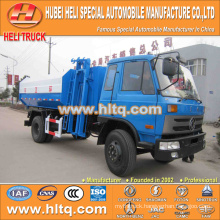 Dongfeng 12M3 hydraulic lifting garbage truck190hp for sale