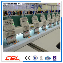 High precision high speed flat computerized embroidery machine