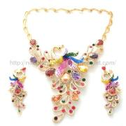 Fashion Jewelry Necklace Set with 14K Gold Plating