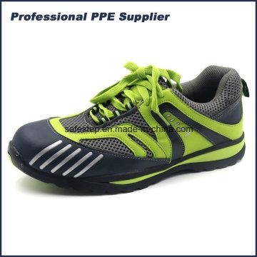 Lightweight No Metal Composite Toe Kevlar Midsole Sport Safety Shoe