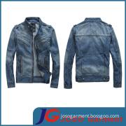 Latest Fashion Design Jean Man Coat (JC7027)