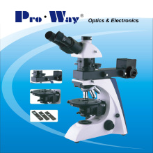 Professional Polarization Microscope with Transmition and Reflected Illumination (PW-BK5000PR)