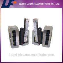 Fábrica caliente del engranaje de la seguridad del elevador de la venta, piezas de seguridad del elevador