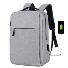 USB Charging Business Backpack Big Capacity Laptop Bag for Daily Use Customized Logo