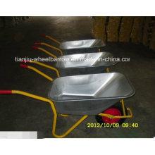 Carretilla de rueda de la agricultura modelo de alta calidad de Rusia (WB6404H)