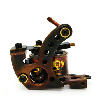 Máquina de tatuaje de bobina de latón CNC Manual barato