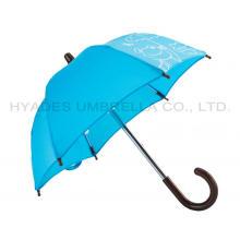 Kleine dekorative Spielzeug Regenschirm blaue Farbe