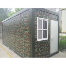Casa militar moderna do recipiente do projeto novo