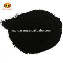 Carbón activado en polvo con base de madera de malla 200 para la edulcoración