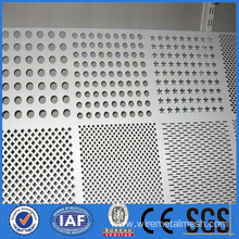 12.5mm Thick Perforated Metal Mesh