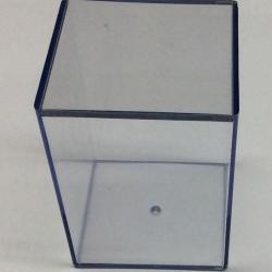 Plastic display storage box