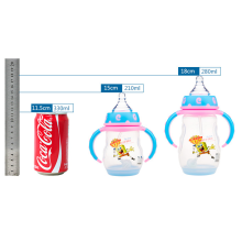 2in1 Plastic Feeding-bottle with FDA LFGB