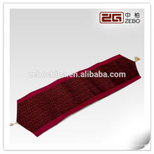decorative hotel bed runner for bedding sets