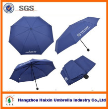 Inverted Advertising 3 Folding Umbrella