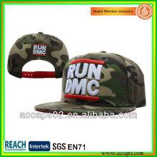 Kundenspezifische Mode camo Stickerei Lager Cap / Hüte mit der 3D Stickerei SN-2204